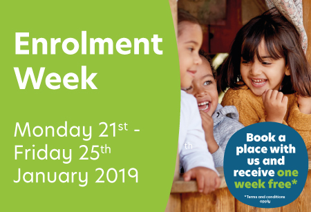 Busy Bees Enrolment Week