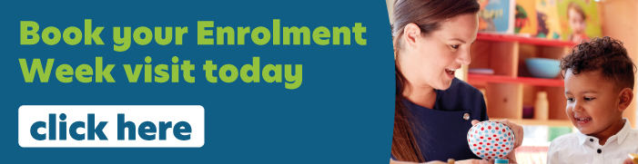 Click here to book your enrolment week visit