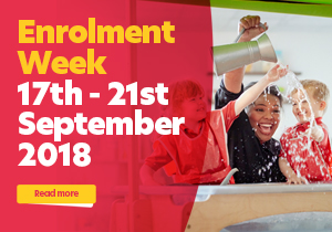 Enrolment Week - 17th - 21st Septemeber 2018