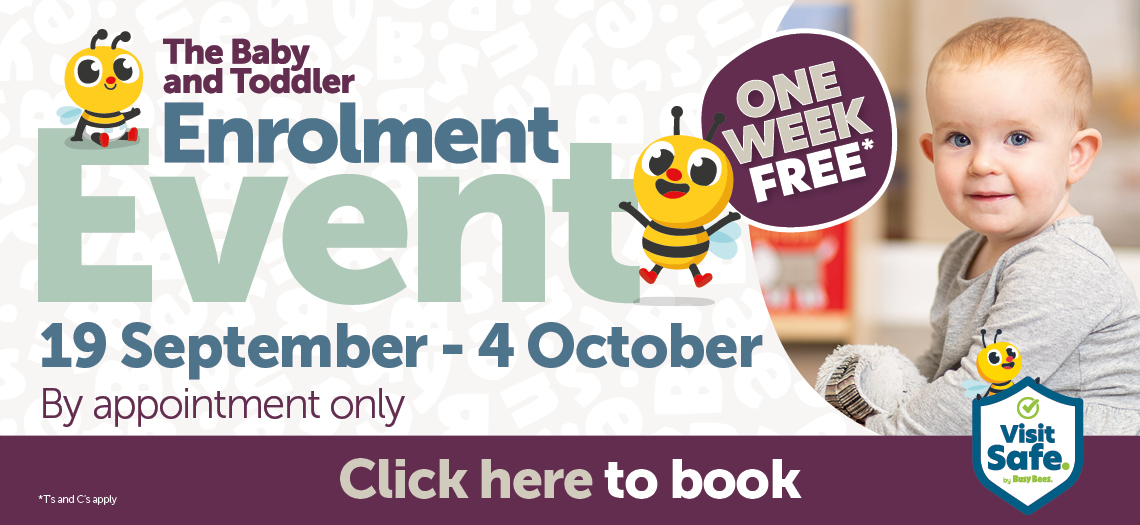 The Baby and Toddler Enrolment Event