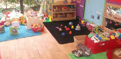 A look inside one of the nursery rooms at Busy Bees at Heathrow