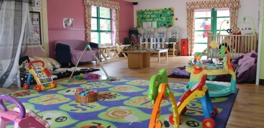 A look inside one of the nursery rooms at Busy Bees in Worcester