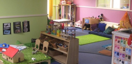 A look inside one of the nursery rooms at Busy Bees at Colton Mill