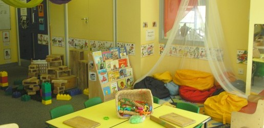 A look inside one of the nursery rooms at Busy Bees at Hull