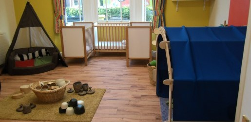 A look inside one of the nursery rooms at Busy Bees at Brighton