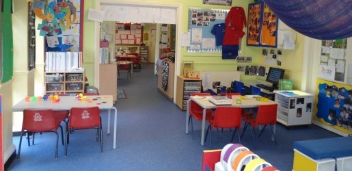 A look inside one of the nursery rooms at Busy Bees at Bernard Street