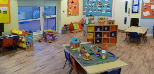 A look inside one of the nursery rooms at Busy Bees at Great Yarmouth