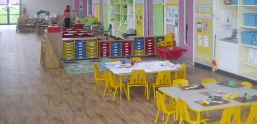 A look inside one of the nursery rooms at Busy Bees in Stoke Gifford