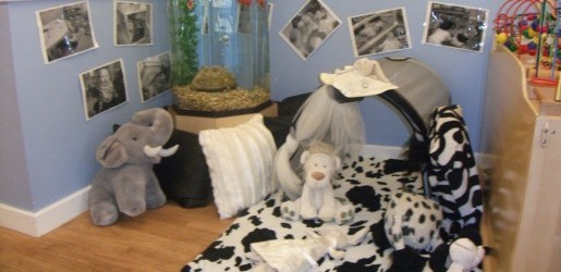 A look inside one of the nursery rooms at Busy Bees at Nottingham City Hospital