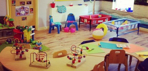A look inside one of the nursery rooms at Busy Bees at Walsgrave Hospital