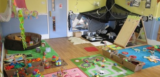 A look inside one of the nursery rooms at Busy Bees at Shenley