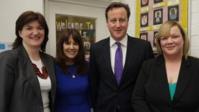 Busy Bees welcome the Right Honourable Prime Minister, David Cameron to their Nursery in Loughborough.  Our nursery in Loughborough enjoyed a very special day last week with a rare