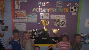 Celebrating children's achievements