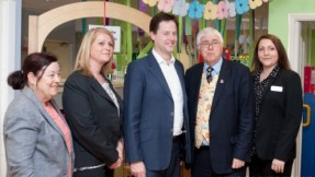 On Thursday, 9th May, our Outstanding nursery in Colchester received a surprise visit from Deputy Prime Minister, Nick Clegg.