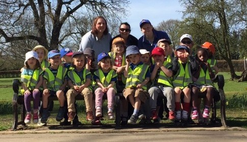Pre-School Academy had a fun afternoon on a nature walk from the nursery to the local fire station. They learnt about road safety on the way and also fire safety!
