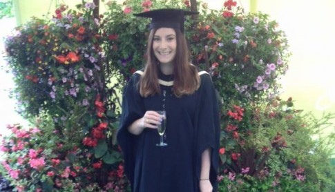 A big well done to Natalie for completing her Foundation Degree!