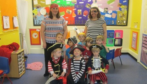 Pre-School Academy had a great day acting like pirates, having pirate themed stories and so much more!