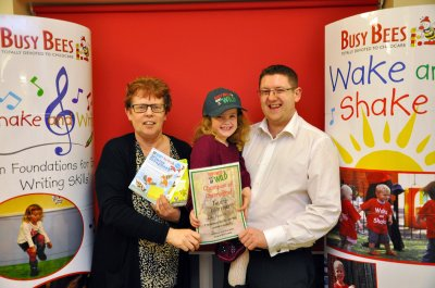 Busy Bees Goes Wild Scrapbook Winner!