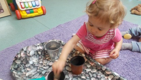 Sensory Play in Babies...