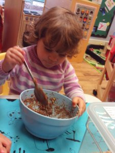 Chocolate Krispies Making...