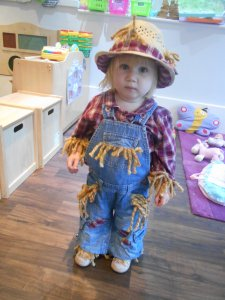 Dress up a scarecrow day!