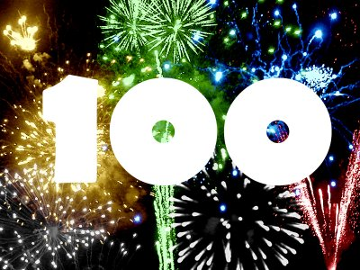 We reached 100!