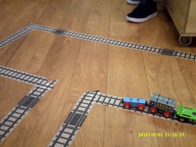 Desiging our own train tracks