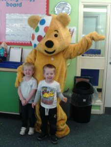 Children in Need celebrations