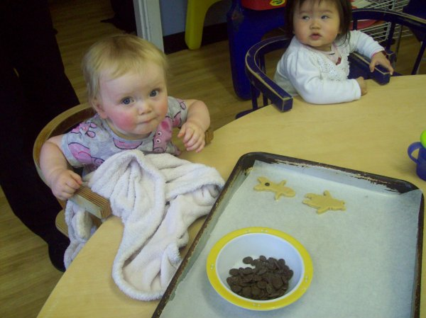 Babies cooking up a tasty treat.  Photo-4