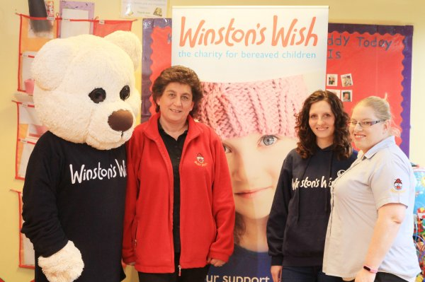 Supporting Winston's Wish Charity Photo-3