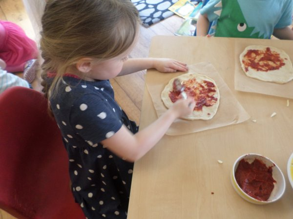 Pre-school go Pizza mad! Photo-1