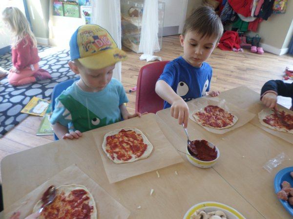 Pre-school go Pizza mad! Photo-2