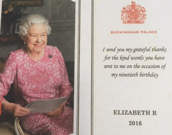 Letter from the Queen! Photo-1
