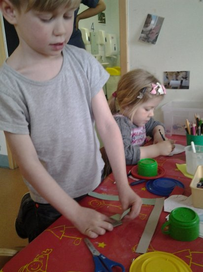 Pre-school have been learning all about Elmer. Photo-4