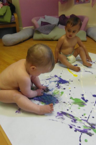 Babies bodypainting Photo-1