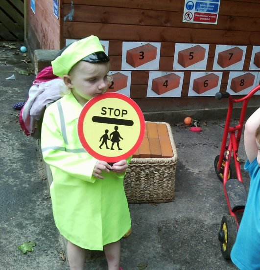 We have been learning about road safety Photo-2