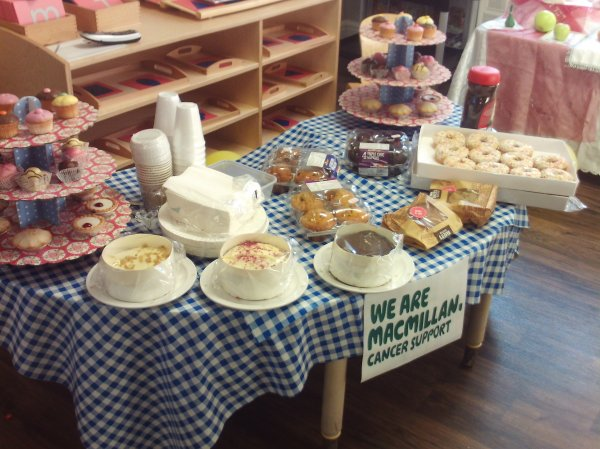 Macmillan coffee morning  Photo-1