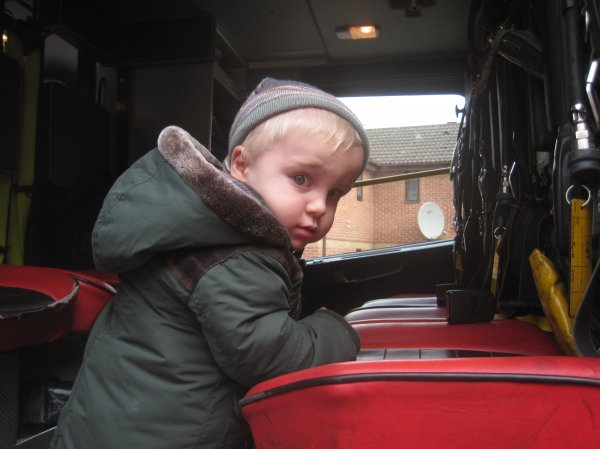 A visit from the local Fire Engine Photo-5