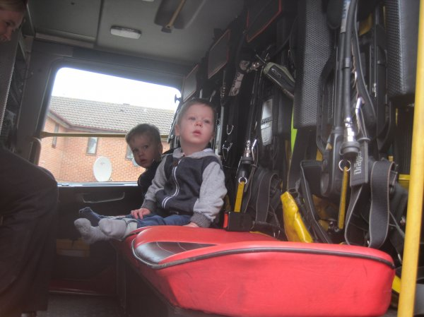 A visit from the local Fire Engine Photo-6