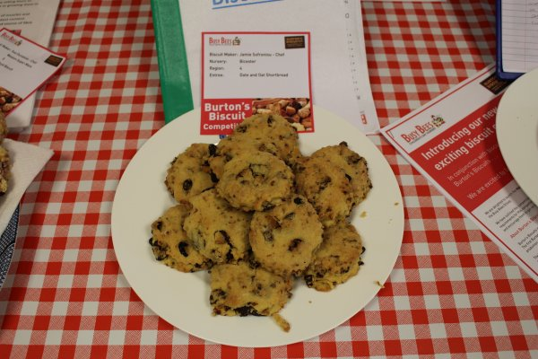 Kettering nursery chef wins biscuit competition Photo-1