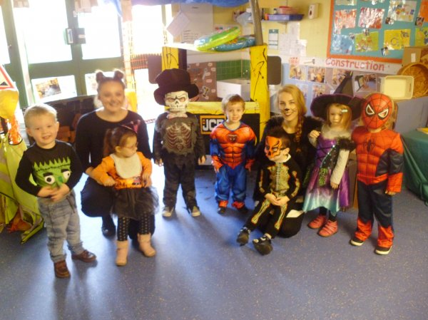 Spooky fun at Nursery today. Photo-1