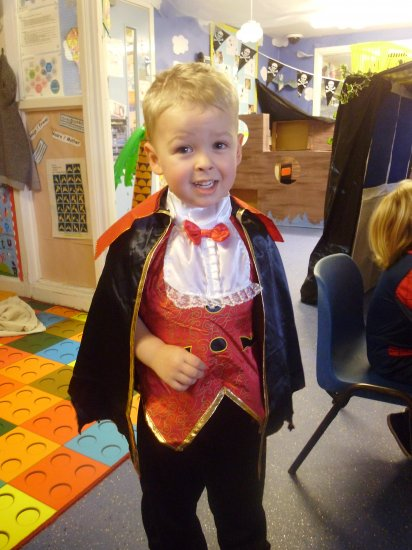 Spooky fun at Nursery today. Photo-4