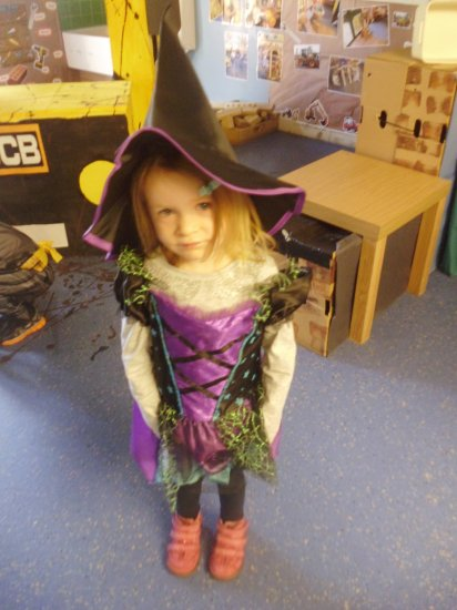 Spooky fun at Nursery today. Photo-6