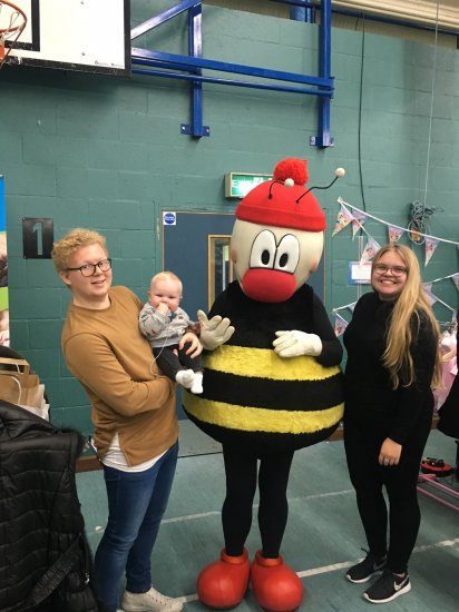 Buster is a big hit at the Essex Baby Show Photo-4