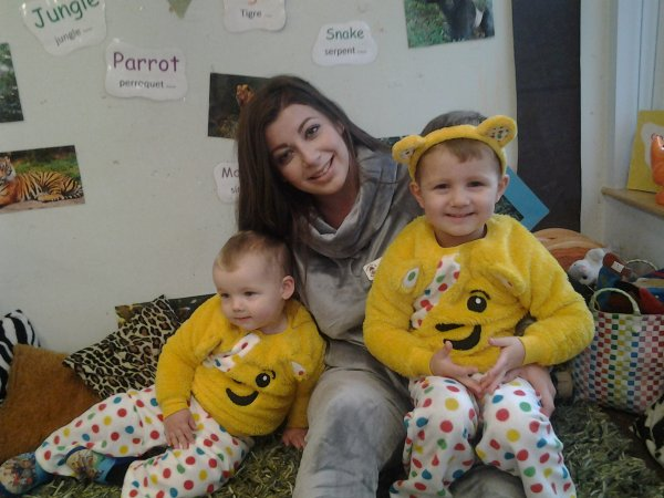 Celebrtaing Children in need at Busy Bees Photo-1