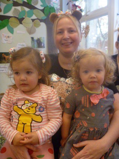 Celebrtaing Children in need at Busy Bees Photo-4