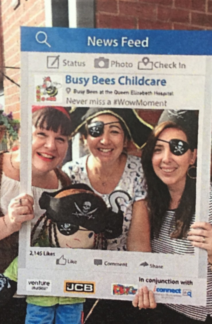 Pirate Day Busy Bees nursery QE
