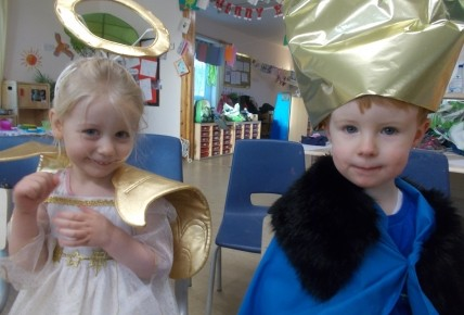 Our First Nativity Photo-1