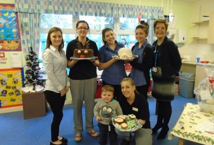 Busy Bees Christmas Bake Off Photo-4