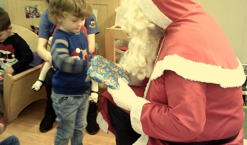 Father Christmas visit